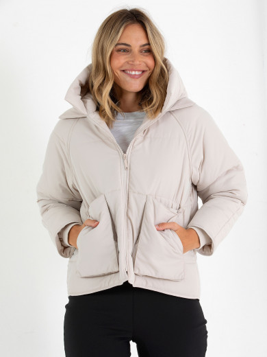 Relaxed Puffer Jacket