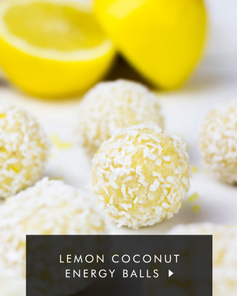 Lemon Coconut Energy Balls