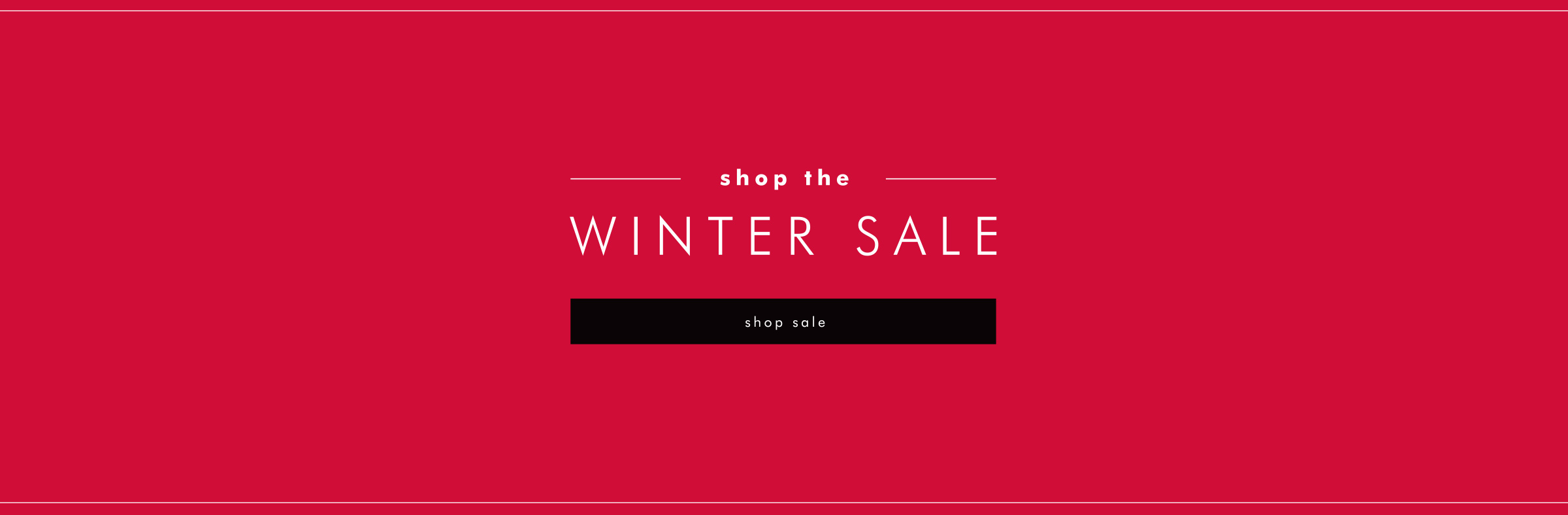 Shop Winter Sale